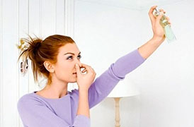 Как избавиться от неприятных запахов в доме