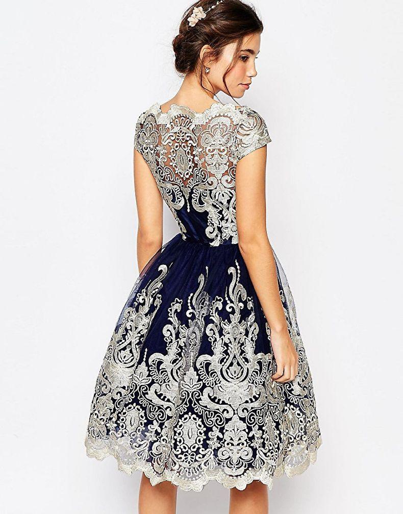 Как украсить платье своими руками - стразами, кружевом, пайетками, бисером, цветами