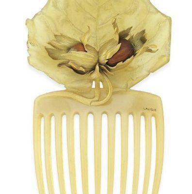 Гребни для волос начало XX века