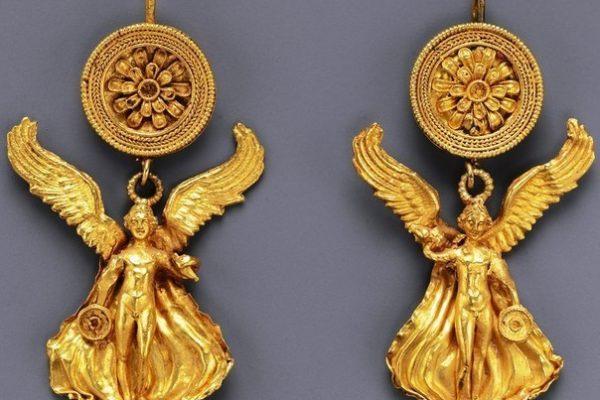 Древнегреческие серёжки